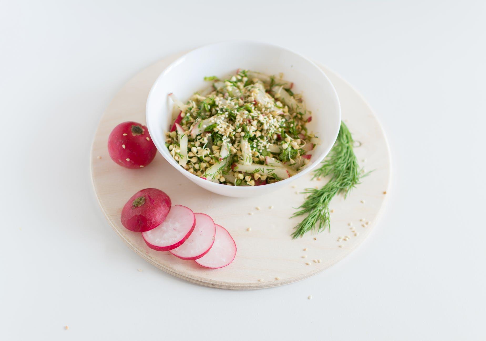 salad healthy vegetables vegan